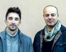 Yacine Chouieb et Sébastien Cornet, le duo de La-Minca à Nancy.