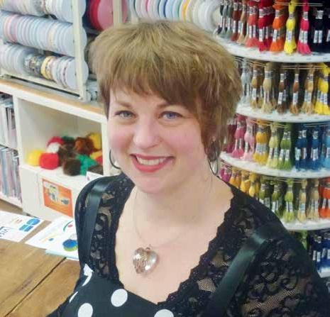 Gérante de Coccifil, Audrey Waffard donne une nouvelle jeunesse à l'activité de mercière.