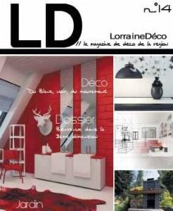 Le numéro 14 de Lorraine Déco sera distribué sur le Salon Habitat Déco du 5 au 9 mars à Nancy.