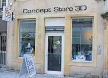 Les locaux de la boutique, qui souhaite rendre accessible à tous la technologie d'impression 3D.