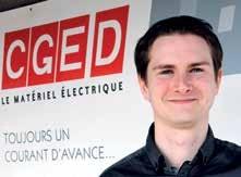 Olivier Agostini de chez CGED a remporté le concours du Meilleur Ouvrier de France dans la catégorie «Technico-commercial. Conseil en efficacité énergétique».