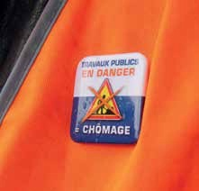 Entre 1 500 et 2 000 emplois devraient être détruits dans les travaux publics cette année en Lorraine.