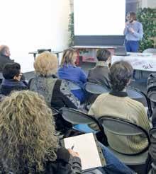 Des conférences pratiques ont rythmé la manifestation tout au long de la journée.