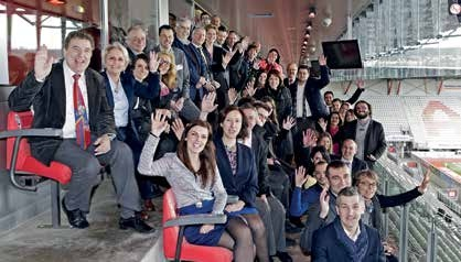 Une équipe qui gagne et qui fait gagner ! Les partenaires de la première édition du Salon de l'Entreprise Lorraine ont le sourire, ils peuvent, le challenge osé et délicat a été relevé.