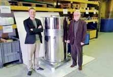 Web'Air, une expertise de père en fils (Damien Weber à gauche et Jean-Charles Weber à droite).