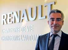 «Le renouvellement du haut de gamme est en marche», assure Vincent Gorce, le directeur régional Grand Est de Renault.