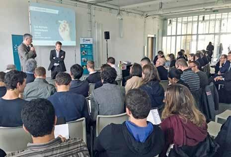 Une cinquantaine de participants issus des entreprises numériques lorraines et de l'Université de Lorraine ont répondu présent pour l'événement.