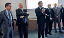 Jean-François Husson (au micro), président de l'Aduan a présenté la 9ème édition de l'Atlas 2015 du Grand Nancy prônant l'ouverture des territoires.