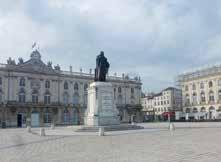 Située au centre historique de Nancy, la place Stanislas appartient à un magnifique ensemble architectural datant du XVIIIe siècle.