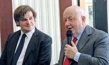Étienne Gernelle, directeur du Point et André Rossinot, président du Grand Nancy.