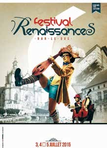 Le Festival RenaissanceS de Bar-le-Duc entend afficher une dimension nationale…