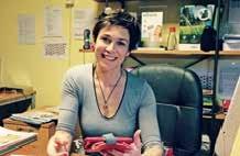 Caroline Karevski à la tête de l'entreprise et de la marque Util&Co, spécialisée dans la recherche et la commercialisation de produits innovants, originaux et écologiques.