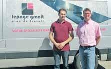 Romain Lepage (à droite) et Stéphane Lepage (à gauche), mènent de main de maître l'entreprise familiale.