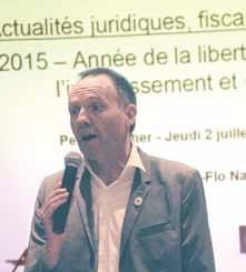 «Avec la loi Macron les entreprises vont-telles boire du petit lait ou vont-t-elles rester des vaches à lait ?» s'interroge Frédéric Ferry, le président de l'ACE Lorraine.