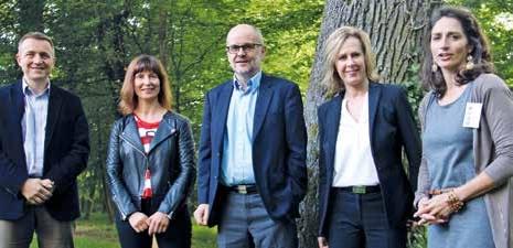 L'association NB Tech, présidée par Denis Heftre (au centre), vient de lancer son programme «Sport et bien-être».