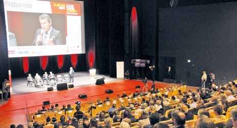 De nombreux entrepreneurs se sont libérés à l'occasion du forum ÉcoRévolutions le 26 juin à Nancy.