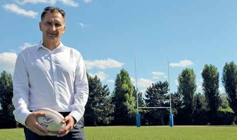 Laurent Pasquier, le nouveau président du Cos Villers Rugby, entend donner une nouvelle dimension au club.
