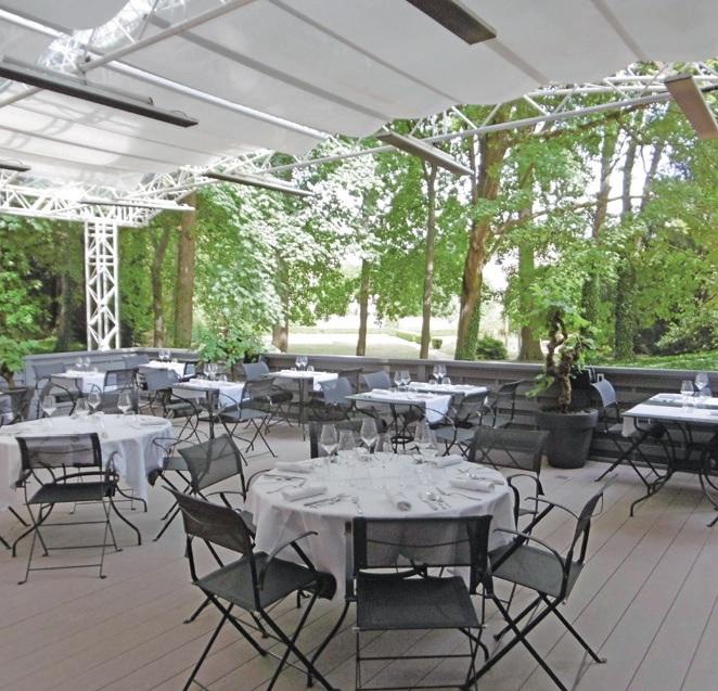 La Maison dans le Parc est le seul établissement étoilé Michelin à Nancy.
