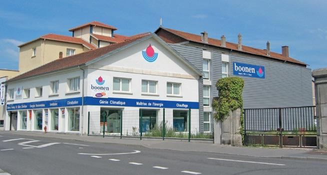 Le siège social nancéien de Boonen SAS.
