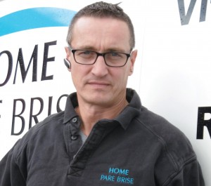 Jean-Claude Vennet, gérant de Home Pare Brise, à Houdemont.