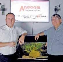 Émilien Poirson et Bertrand Beisbardt à la tête d'Agecom, créé en 2006.
