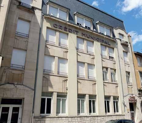 Installé dans ses locaux depuis 1931, le Crédit Municipal est le seul en Lorraine. On en compte 18 au total en France.