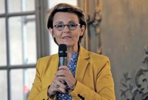 Florence Servan-Schreiber, «professeur de bonheur», est venue divulguer ses bons conseils le 15 septembre face aux Femmes dirigeantes du Bâtiment à Nancy.