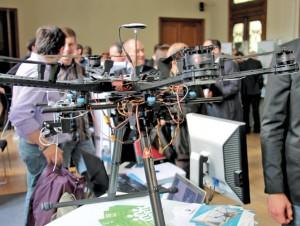 À l'image d'Alerion et de ses drones, une quinzaine de start-up accompagnées par l'Incubateur Lorrain étaient à l'honneur pour les 15 ans de la structure.