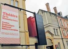 À l'instar de cinq autres sites nancéiens, le Théâtre de la Manufacture accueille les premières journées techniques du Spectacle vivant en Lorraine.
