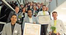 Douze lauréats, dont deux lorrains, ont été récompensés cette année pour le parcours d'accompagnement 1,2,3, GO lors de la soirée de clôture à la CCI de la Sarre le 17 septembre.