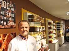 Pascal Caffet a choisi Nancy pour ouvrir l'une de ses nouvelles boutiques.