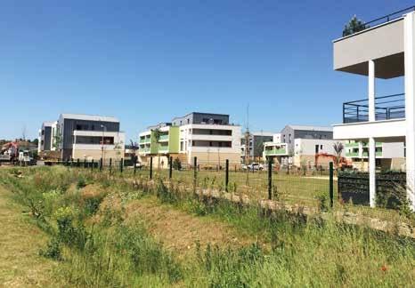 La ZAC Paul Joly à Marly a nécessité 2 millions d'euros de travaux.