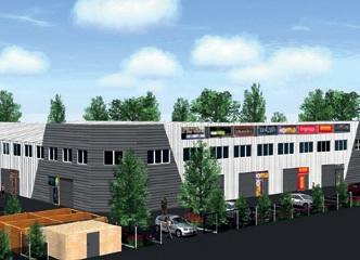 5 000 m² de locaux d'activité neufs sont en train de sortir de terre du côté du Marché de Gros à Heillecourt. Le projet est porté le groupe girondin Demonchy et la commercialisation est assurée par Acte CBRE.