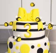 Joli gâteau confectionné par la jeune pâtissière Adeline Bucher.