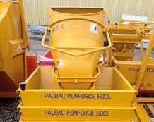Un bac à béton de 500 litres, un exemple de l'équipement robuste proposé par Pignolet Matériel.