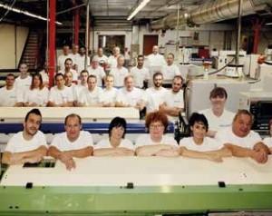L'équipe de l'entreprise Hampiaux SAS à Nancy.