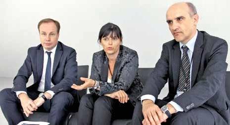 Olivier Balestraci, Anne-Christine Frère et Daniel Fritsch, le trio des représentants du Chiffre lorrain met tout en oeuvre pour attirer les jeunes vers leurs professions.