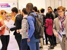 Forum Est-Horizon et Géologia, même combat ! Bilan : une affluence importante dans les allées du centre de congrès Prouvé à Nancy.