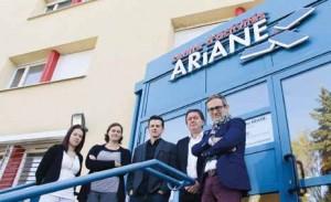 «La création d'un Centre Ariane II est une question qu'il faudra sûrement se poser un jour sur notre territoire», assure Hervé Tillard (à droite), le premier vice-président de la Communauté de communes de Moselle et Madon et président de l'ADSN.