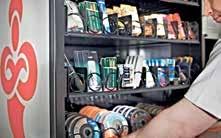 On retrouve près d'une centaine de distributeurs Invend dans la zone Nord-Est.