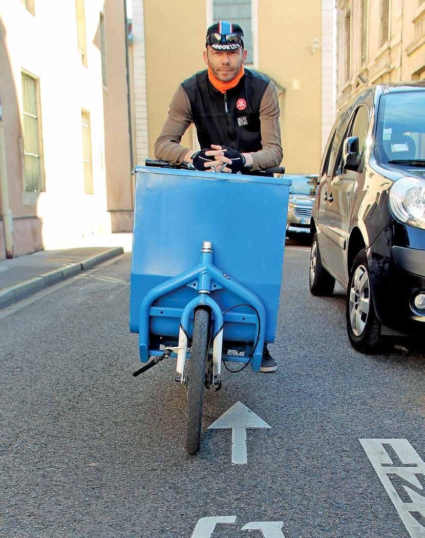 Romain Thirion, gérant et fondateur de Coursiers Cyclistes Lorrains: «On me prend encore parfois pour un extraterrestre…»