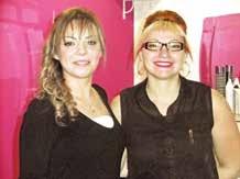 Victoria Schweitzer aux côtés de son employée Safia Mehidi.
