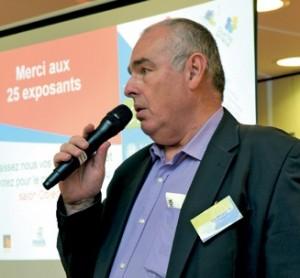 Richard Goldkranz, le président du Club TPE Lorraine, le principal instigateur de cette manifestation communicative.