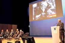 Denis Renaud, le président de la SIE, a ouvert l'édition 2015 de la Fête solennelle du travail le 12 novembre à Nancy.