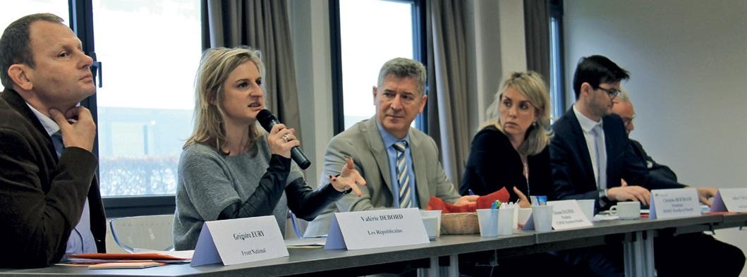 Le Medef et la CGPME de Meurthe-et-Moselle ont réuni plusieurs têtes de listes départementales aux élections régionales le 3 novembre dernier.