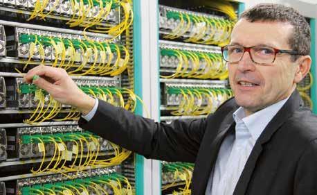 «Nous avons aujourd'hui 80 000 prises potentielles très haut débit sur l'agglomération nancéienne », assure Didier Jenczak, le directeur des relations régionales Est de l'opérateur SFR-Numéricable.