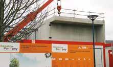 La nouvelle cuisine centrale du bassin de Pompey sort de terre. Mise en service en janvier 2017.