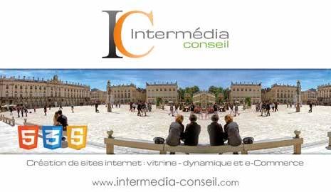 La société Intermédia Conseil compte 250 réalisations de sites Internet.