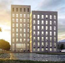 L'immeuble de bureaux O'rigin du quartier Nancy Grand Coeur sera livré mi-2017.