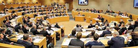 Le 4 janvier à Strasbourg, le nouveau Conseil régional a été installé.